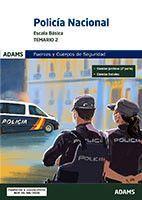 POLICIA NACIONAL. ESCALA BÁSICA TEMARIO 2