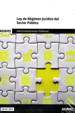 LEY DE REGIMEN JURIDICO DEL SECTOR PUBLICO