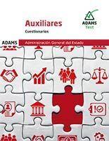 AUXILIARES. ADMINISTRACIÓN GENERAL DEL ESTADO. CUESTIONARIOS 2021
