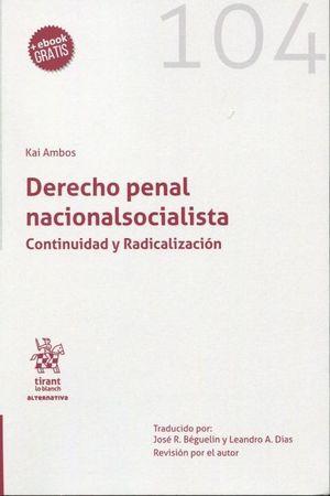 DERECHO PENAL NACIONALSOCIALISTA