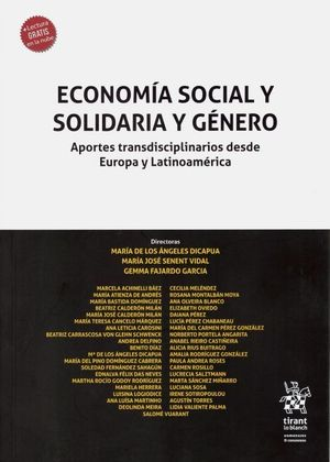 ECONOMÍA SOCIAL Y SOLIDARIA Y GÉNERO