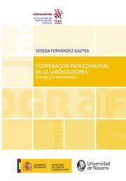 COOPERACION PROCEDIMENTAL EN LA UNION EUROPEA