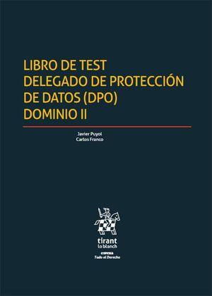 LIBRO DE TEST DELEGADO DE PROTECCIÓN DE DATOS (DPO) DOMINIO II