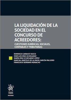 LIQUIDACIÓN DE LA SOCIEDAD EN EL CONCURSO DE ACREEDORES