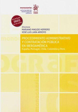 PROCEDIMIENTO ADMINISTRATIVO Y CONTRATACION PÚBLICA EN IBEROAMÉRICA