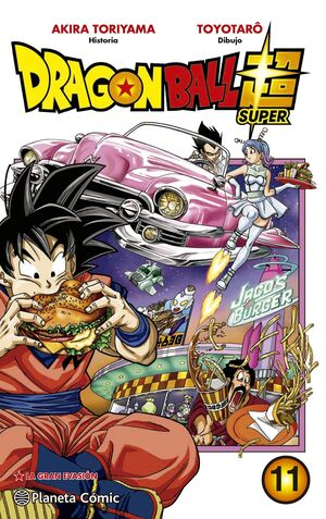 DRAGON BALL SUPER Nº 11