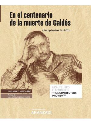 EN EL CENTENARIO DE LA MUERTE DE GALDÓS (PAPEL + E-BOOK)