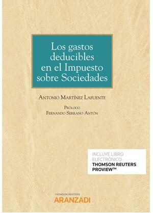 LOS GASTOS DEDUCIBLES EN EL IMPUESTO SOBRE SOCIEDADES (PAPEL + E-BOOK)