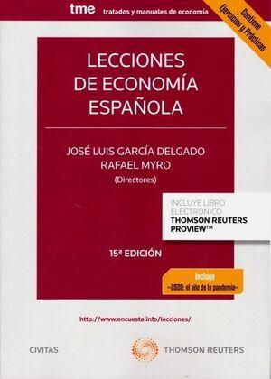 LECCIONES DE ECONOMIA ESPAÑOLA
