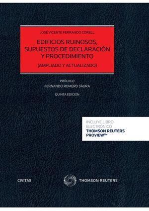 EDIFICIOS RUINOSOS, SUPUESTOS DE DECLARACIÓN Y PROCEDIMIENTO (PAP