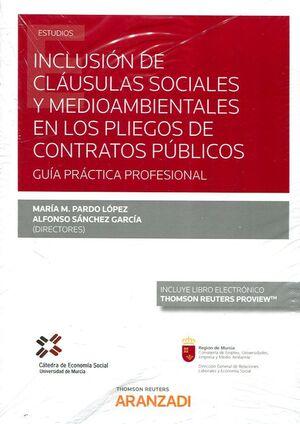 INCLUSION CLAUSULAS SOCIALES MEDIOAMBIENTALES PLIEGOS CONTR