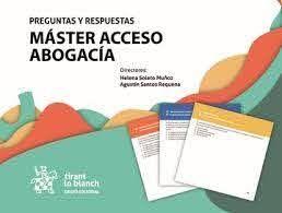 MASTER ACCESO ABOGACIA. PREGUNTAS Y RESPUESTAS (CAJA)