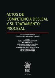 ACTOS DE COMPETENCIA DESLEAL Y SU TRATAMIENMTO PROCESAL