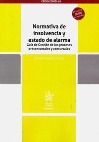 NORMATIVA DE INSOLVENCIA Y ESTADO DE ALARMA