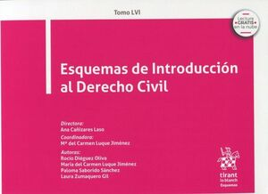 ESQUEMAS DE INTRODUCCIÓN AL DERECHO CIVIL T.LVI