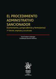 EL PROCEDIMIENTO ADMINISTRATIVO SANCIONADOR. 2 VOL.