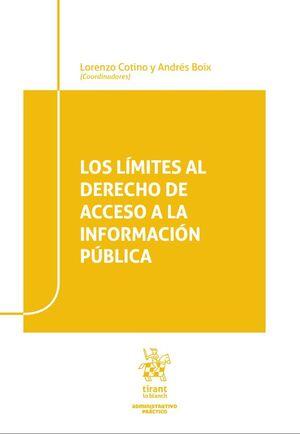 LIMITES AL DERECHO DE ACCESO A LA INFORMACION PUBLICA