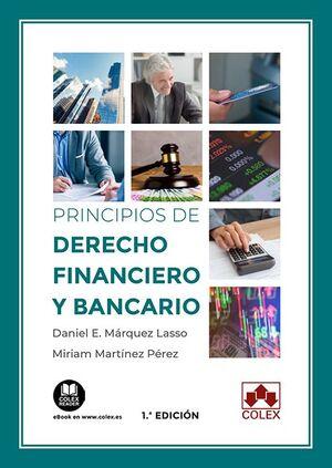 PRINCIPIOS DE DERECHO FINANCIERO Y BANCARIO