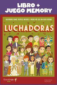 LUCHADORAS: LIBRO + JUEGO MEMORY