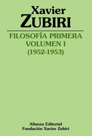 FILOSOFÍA PRIMERA T.1 (1952-1953)