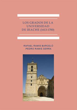 LOS GRADOS DE LA UNIVERSIDAD DE IRACHE (1613-1700)