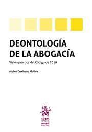 DEONTOLOGIA DE LA ABOGACIA