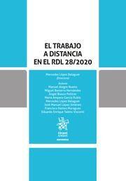 EL TRABAJO A DISTANCIA EN EL RDL 28/2020