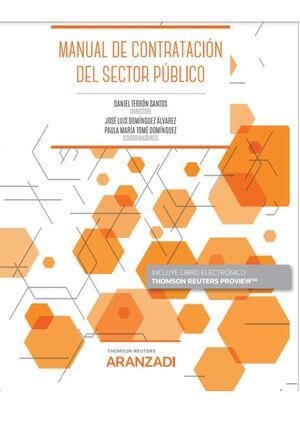 MANUAL DE CONTRATACIÓN DEL SECTOR PÚBLICO (PAPEL + E-BOOK)