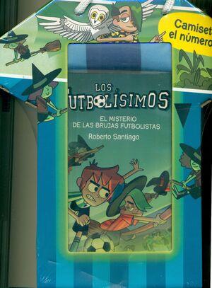 LOS FUTBOLÍSIMOS - PACK CAMISETA + LIBRO N.19