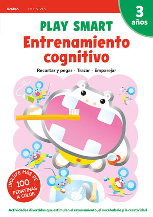 ENTRENAMIENTO COGNITIVO. PLAY SMART. 3 AÑOS