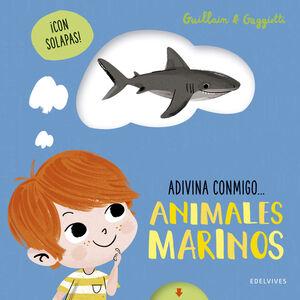 ANIMALES MARINOS. ADIVINA CONMIGO