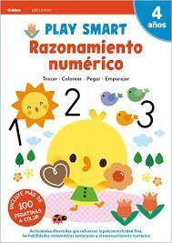 RAZONAMIENTO NUMERICO. PLAY SMART. 4 AÑOS