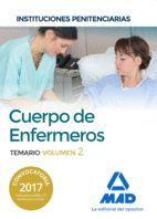 CUERPO DE ENFERMEROS TEMARIO VOL 2 INSTITUCIONES PENITENCIARIAS