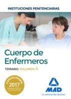 CUERPO DE ENFERMEROS TEMARIO VOL 4  INSTITUCIONES PENITENCIARIAS