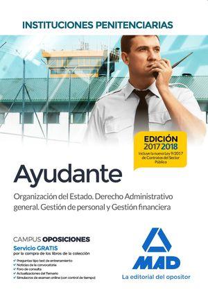 AYUDANTE. INSTITUCIONES PENITENCIARIAS