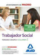 TRABAJADOR SOCIAL DEL AYUNTAMIENTO  DE MADRID