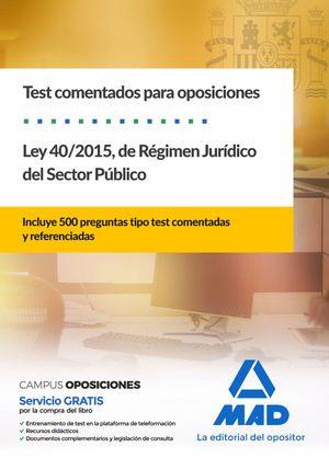 LEY 40/2015, DE RÉGIMEN JURÍDICO DEL SECTOR PÚBLICO