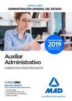 AUXILIAR ADMINISTRATIVO DEL ESTADO (TURNO LIBRE) EJERCICIOS PSICOTÉCNICOS