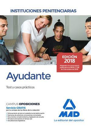 AYUDANTE DE INSTITUCIONES PENITENCIARIAS TEST Y CASOS PRACTICOS
