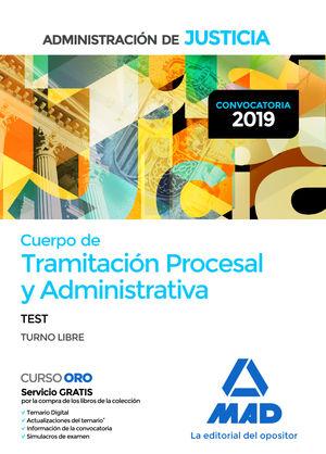 CUERPO DE TRAMITACIÓN PROCESAL Y ADMINISTRATIVA  DE LA ADMINISTRACIÓN DE JUSTICI