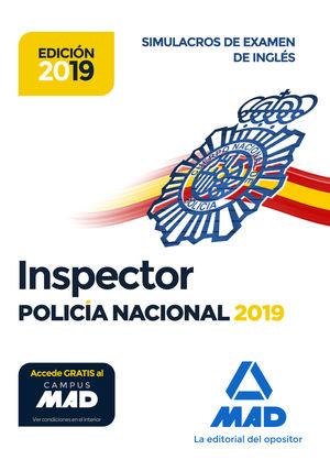 INSPECTOR DE POLICÍA NACIONAL. SIMULACROS DE EXAMEN DE INGLÉS