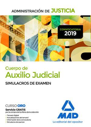 CUERPO DE AUXILIO JUDICIAL. SIMULACROS DE EXAMEN