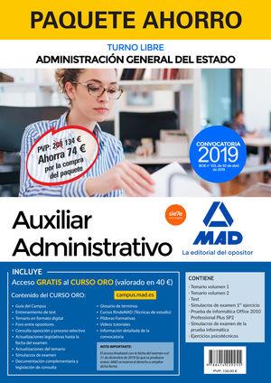 PAQUETE AHORRO AUXILIAR DE LA ADMINISTRACIÓN DE ESTADO