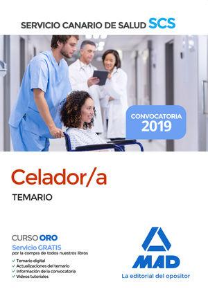 CELADOR/A. TEMARIO. SERVICIO CANARIO DE SALUD