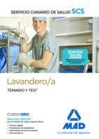 LAVANDERO/AS TEMARIO Y TEST. SERVICIO CANARIO DE SALUD