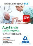 AUXILIAR DE ENFERMERÍA DEL SERVICIO CANARIO DE SALUD.