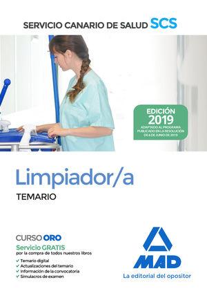 LIMPIADOR TEMARIO 2019 SERVICIO CANARIO SALUD