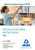 TECNICO /A AUXILIAR DE FARMACIA. TEST. SERVICIO CANARIO DE SALUD
