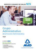 GRUPO ADMINISTRATIVO DE LA FUNCIÓN ADMINISTRATIVA DEL SERVICIO CANARIO DE SALUD