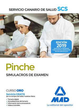 PINCHE. SIMULACROS DE EXAMEN. SERVICIO CANARIO SALUD